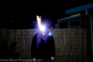 Photo by Rob Wilson wellington new zealand recreate ghost photo debunking paranormal investigation of photographs