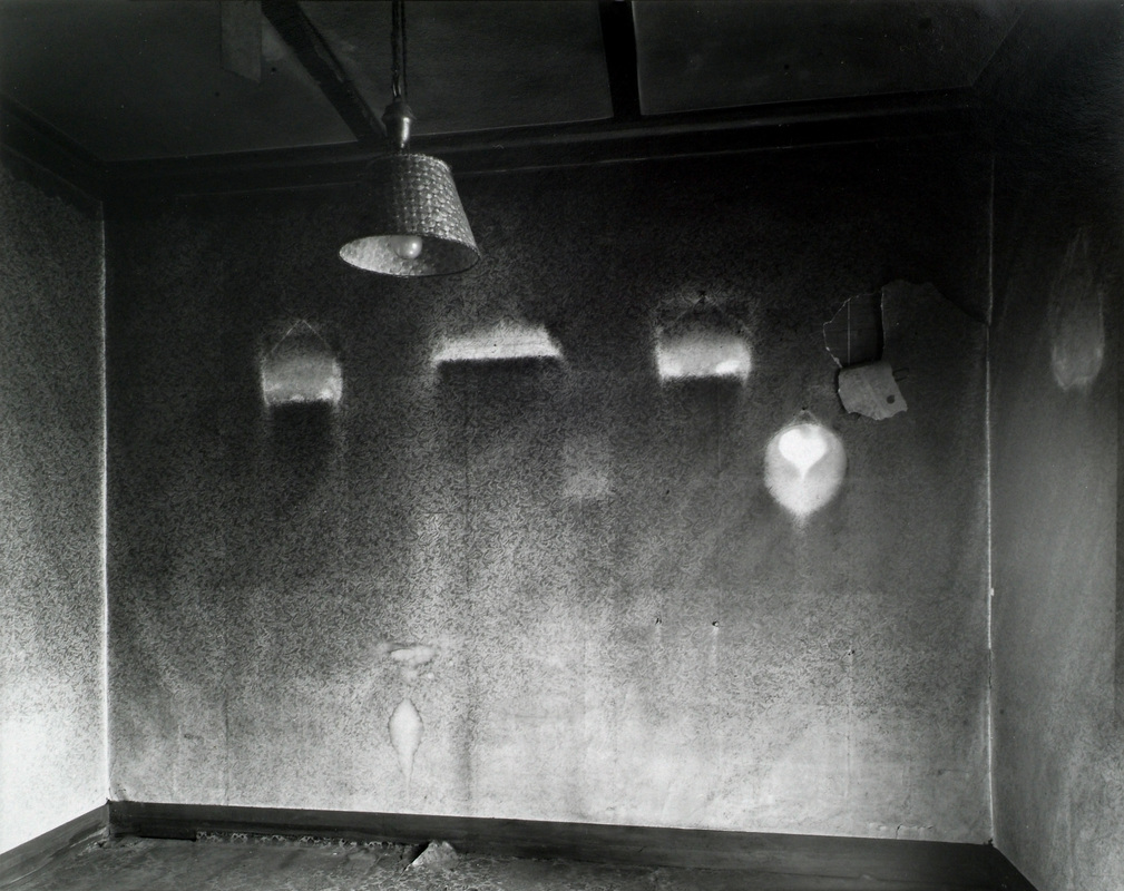 Andrew Ross - Empty room, Masonic St, Masterton, 6-10-2001. Silver-gelatine photograph, 20x25cm. This photograph is in the Te Papa collection and features in the exhibition 'New Zealand Photography Collected'. Andrew Ross is represented in New Zealand by Photospace Gallery, Wellington