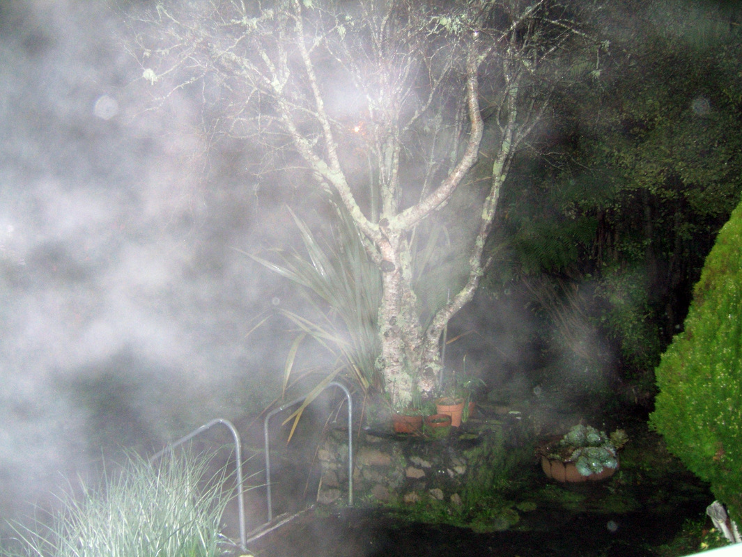 ectoplasm mist, breath mist, pareidolia, photo by James Gilberd