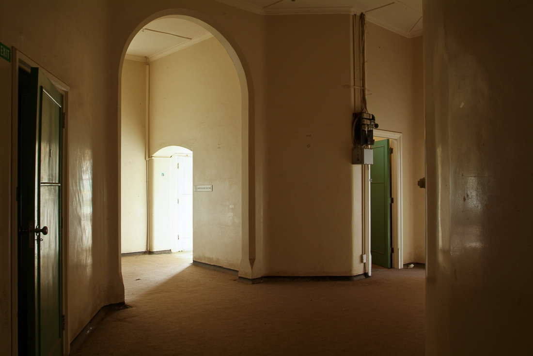 Central section of Fever Hospital, 2011. Photo: James Gilberd, Wellington Fever Hospital, New Zealand haunted building