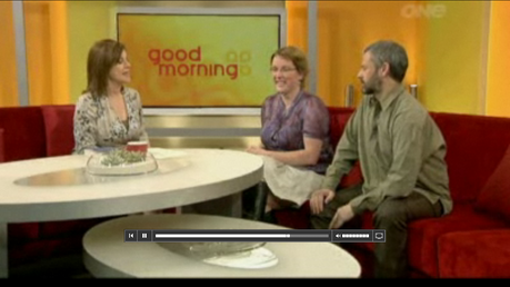 Jo Davy & James Gilberd interviewed on Breakfast about Spooked book, 29/9/2011, Spooked expo\loring the paranormal in new zealand book, Strange Occurrences wellington New Zealand, rational explanations for paranormal phenomena